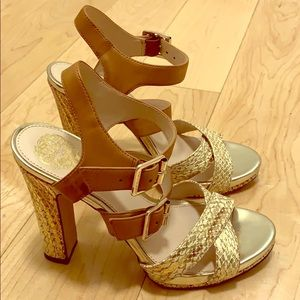 Vince Camuto snakeskin heels